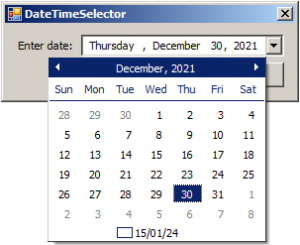 DateTimeSelector - Screenshot (3)