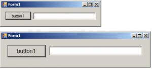تاثیر AutoScaleMode با تغییر Font